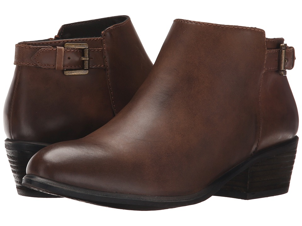 Blondo Calais Waterproof Cognac Womens Cold Weather Boots