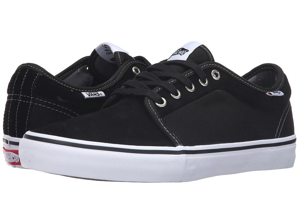 Vans - Chukka Low Pro (Black/White) Mens Skate Shoes