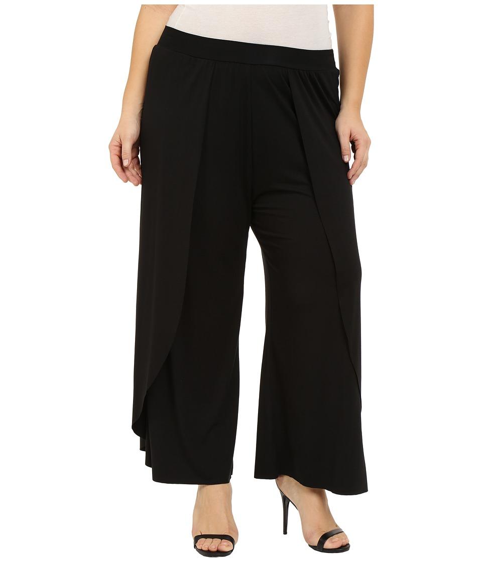 Rachel Pally Plus Plus Size Justice Pants Black Womens Casual Pants