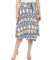 Rachel Pally Plus - Plus Size Mid-Length Wrap Skirt