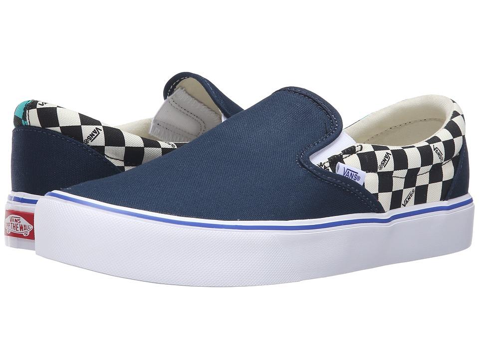 Vans Slip-On Lite ((Seeing Checkers) Dress Blues/White) Men