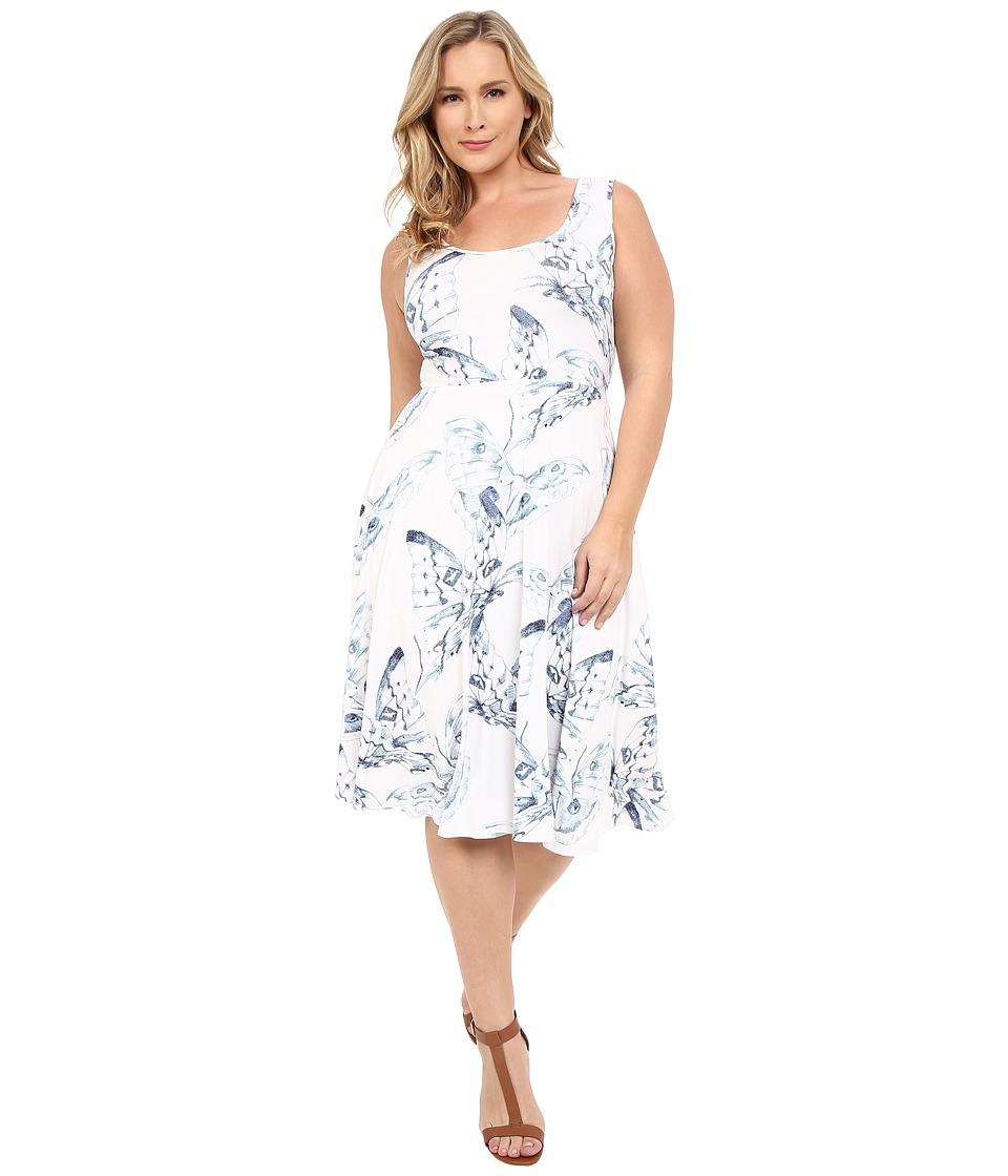 Rachel Pally Plus Plus Size Stasia Dress Eclipse Mariposa Womens Dress