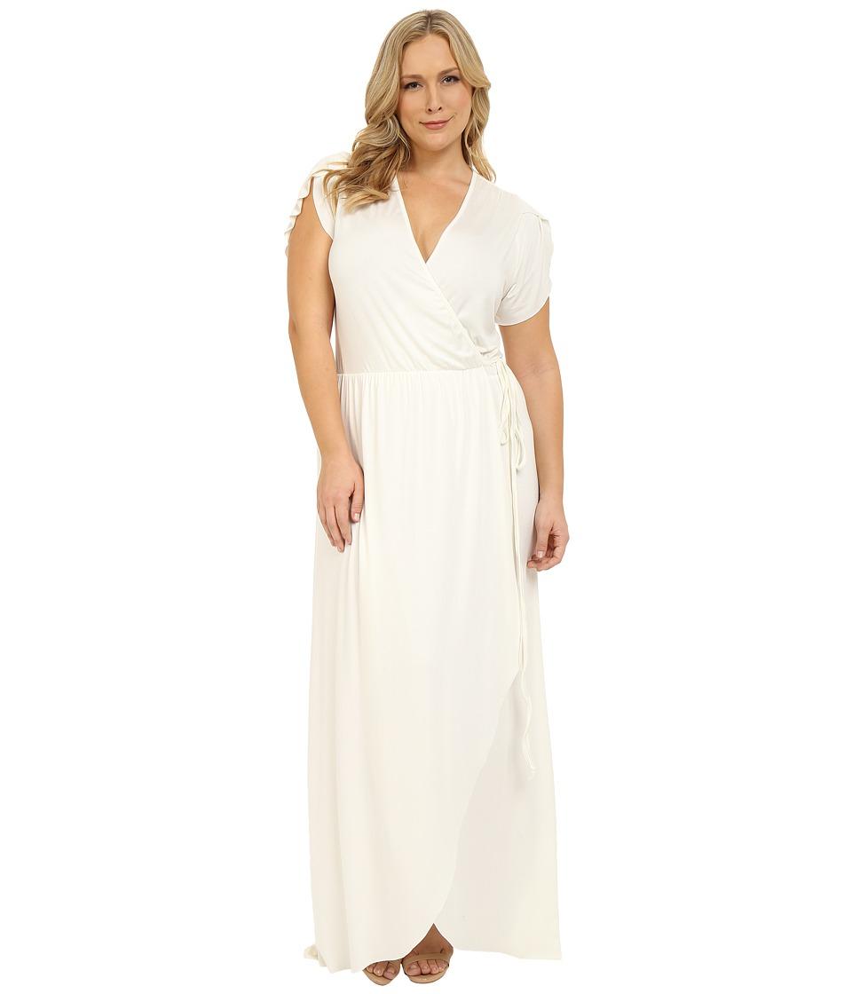 Rachel Pally Plus Plus Size Perpetua Dress White Womens Dress