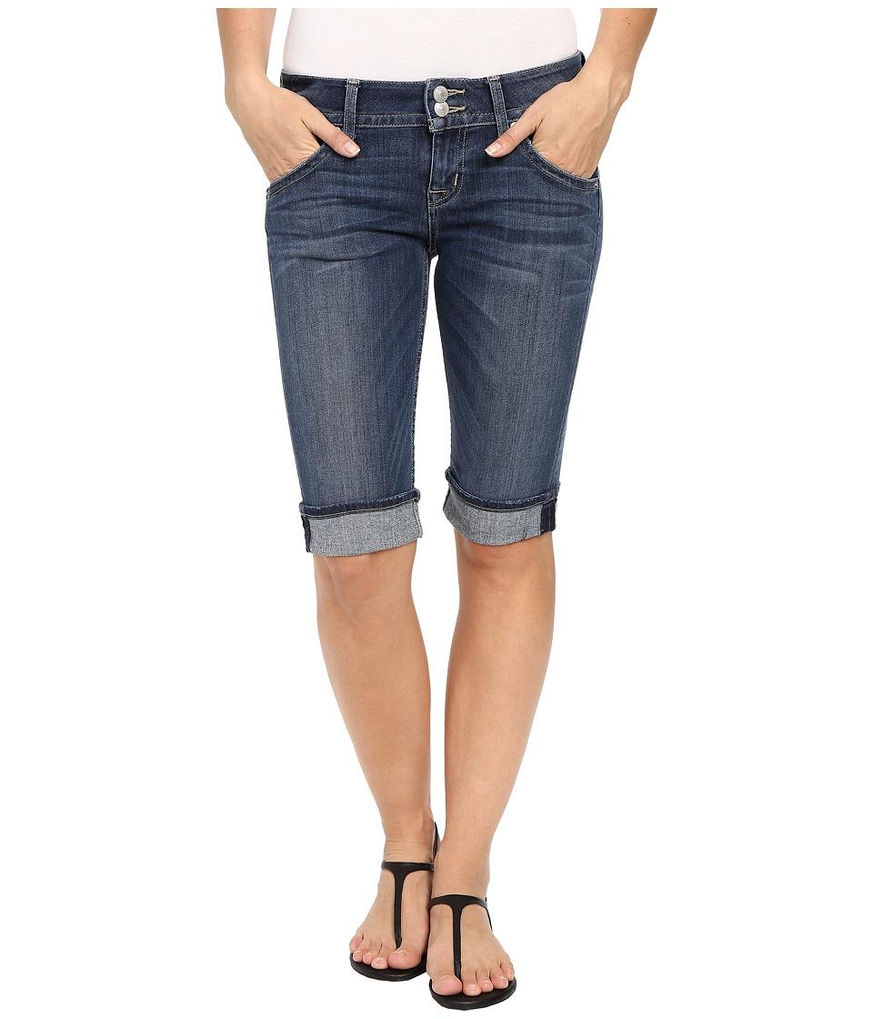Hudson Palerme Knee Shorts in Alabaster Daze Alabaster Daze Womens Shorts