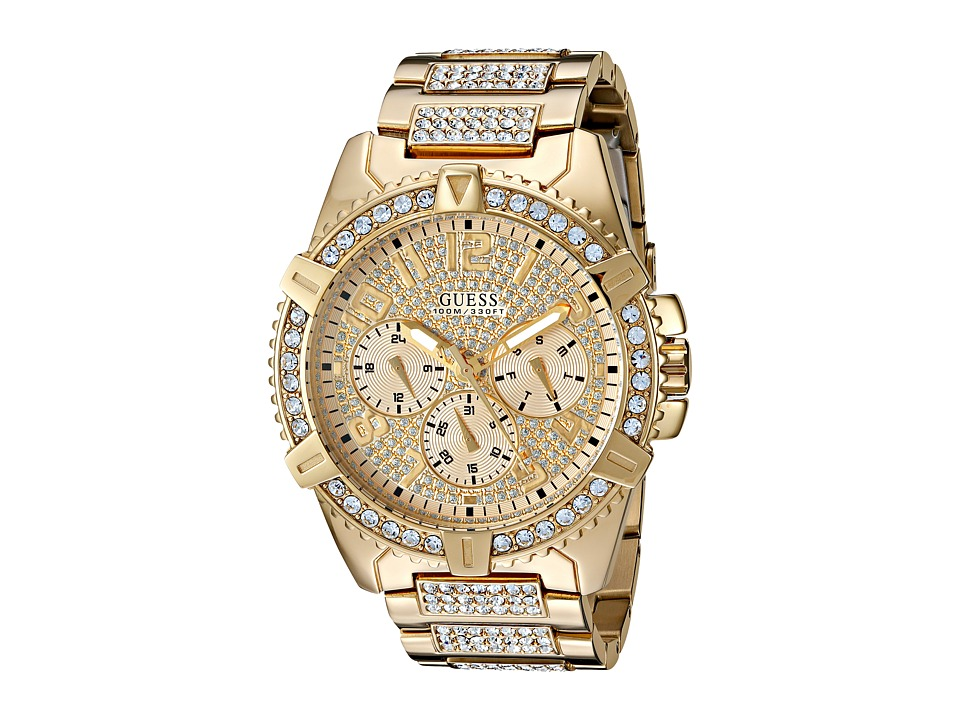GUESS - U0799G2 (Gold) Sport Watches