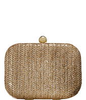 Jessica McClintock - Roxie Metallic Straw Clutch