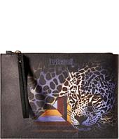 Just Cavalli - Printed Eco Saffiano w/ Leopard