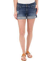 Hudson - Croxley Mid Thigh Rolled Shorts with Distress in Sugarcane