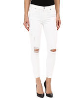 Hudson - Nico Mid-Rise Skinny in Dreamer (Distress White)