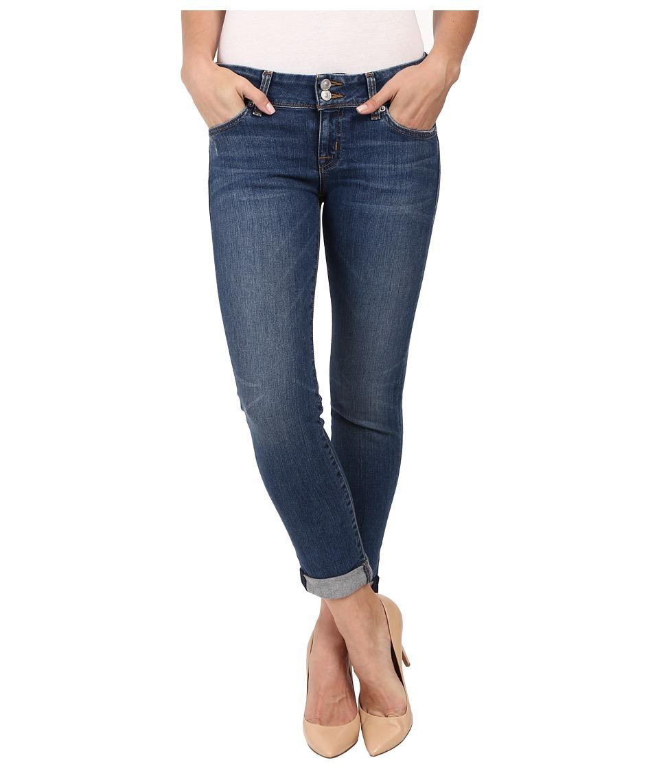 Hudson Ginny Straight Ankle Crop in Point Break Point Break Womens Jeans
