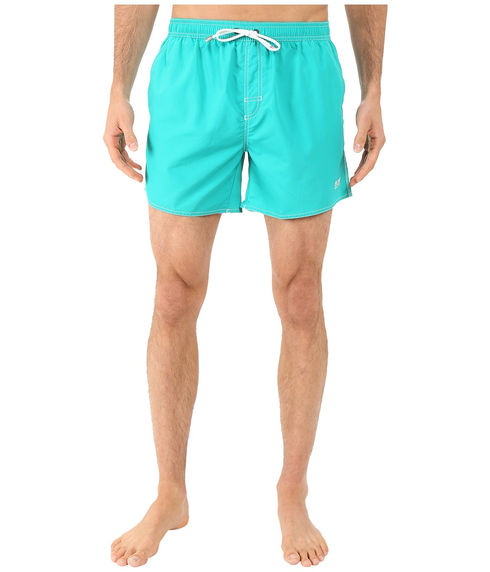 BOSS Hugo Boss Lobster 10155742 01 Swim Shorts Teal Mens Swimwear