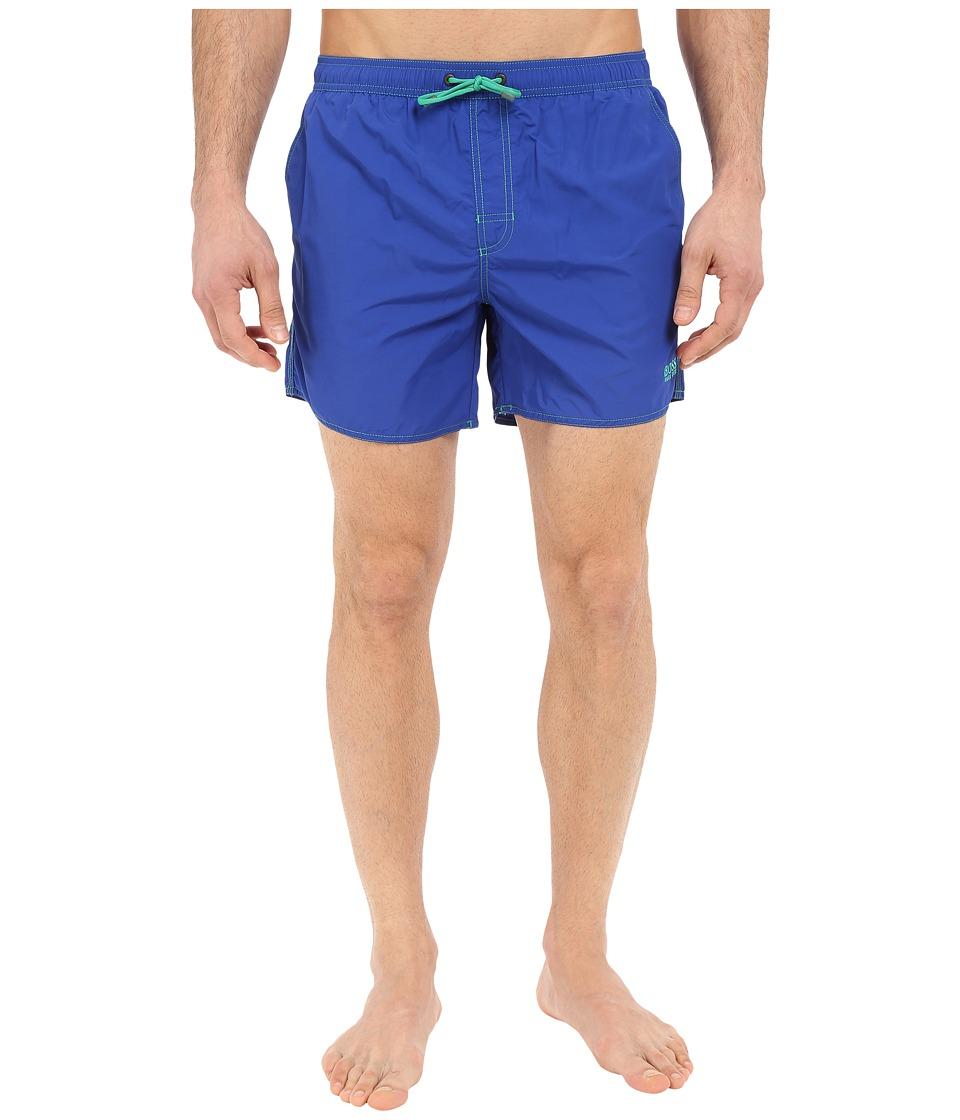 BOSS Hugo Boss Lobster 10155742 01 Swim Shorts Royal Blue Mens Swimwear