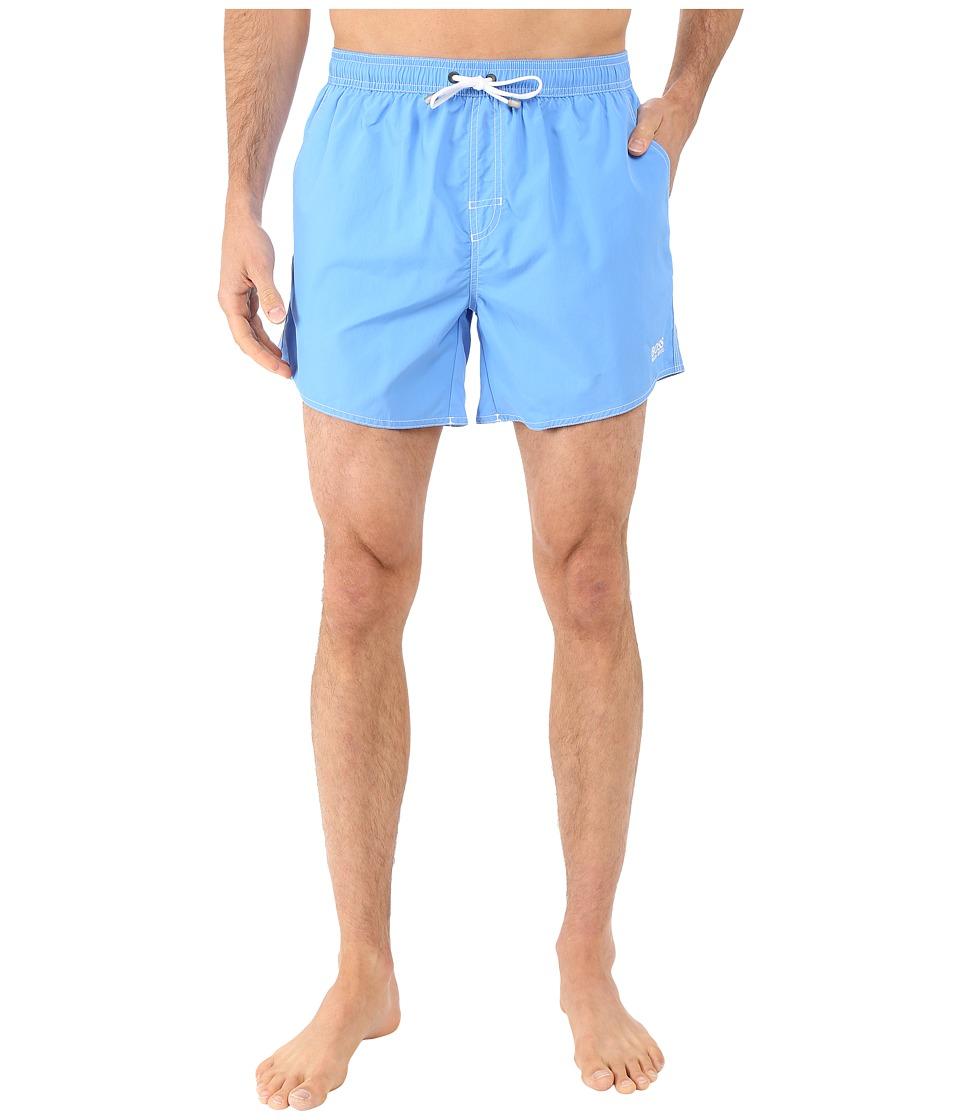 BOSS Hugo Boss Lobster 10155742 01 Swim Shorts Ice Blue Mens Swimwear