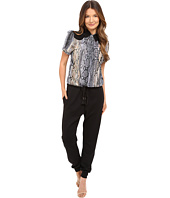 Just Cavalli - Blocked Jumpsuit with Printed Top