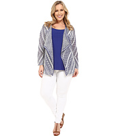 NIC+ZOE - Plus Size Diamond Dot Cardy