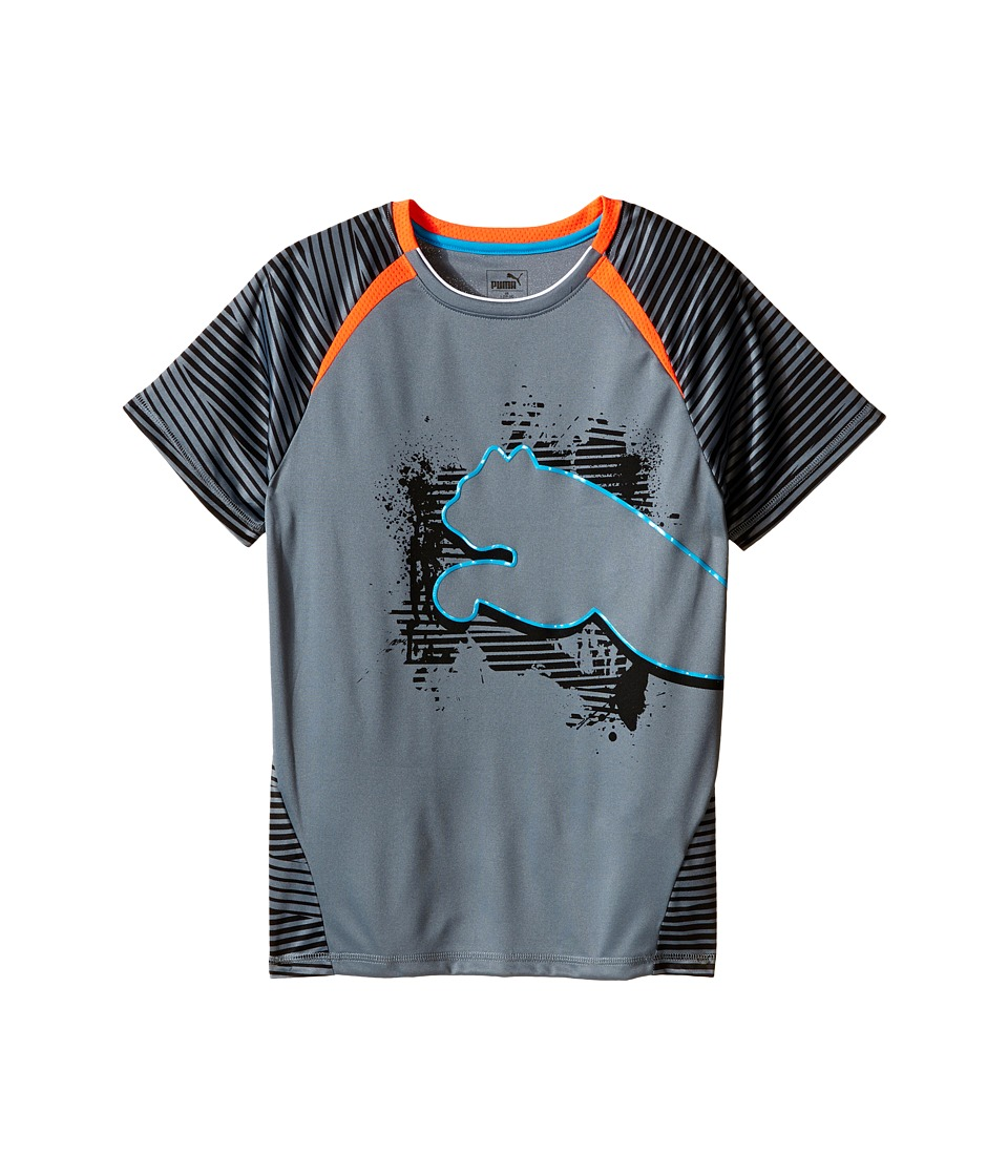 Puma Kids Big Cat Tee Big Kids PUMA Black Boys T Shirt
