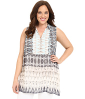 NIC+ZOE - Plus Size Mosaic Tunic Layer