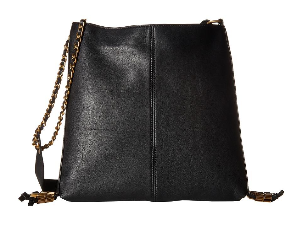 SJP by Sarah Jessica Parker Bayard Noir Leather Handbags
