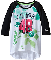 Puma Kids - PUMA® 48 Raglan V-Neck (Big Kids)