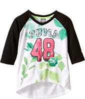Puma Kids - PUMA® 48 Raglan V-Neck (Little Kids)