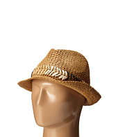 Steve Madden - Fedora with Cehvron Band