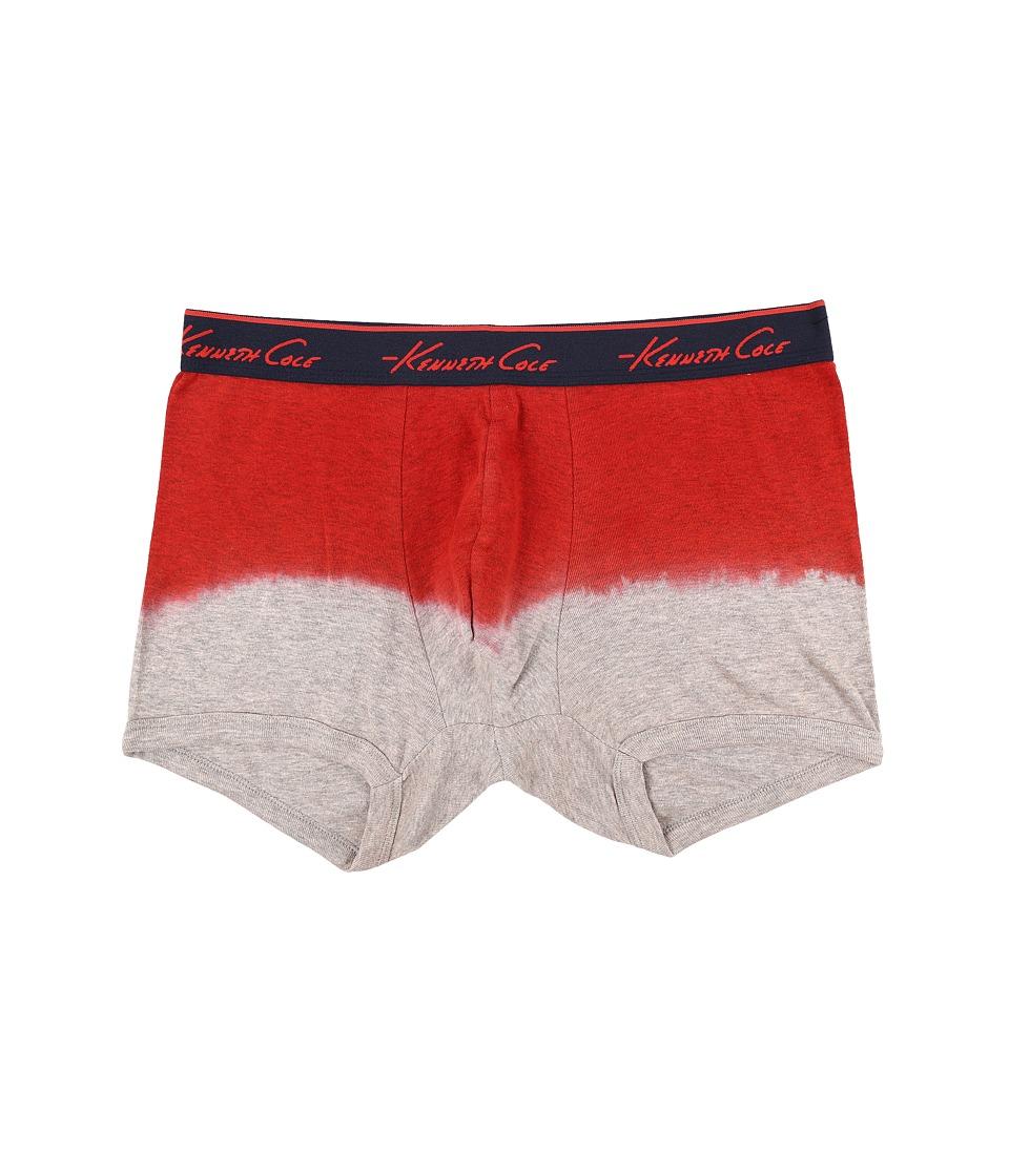 Kenneth Cole Reaction Heather Trunk Coral Heather Mens Underwear