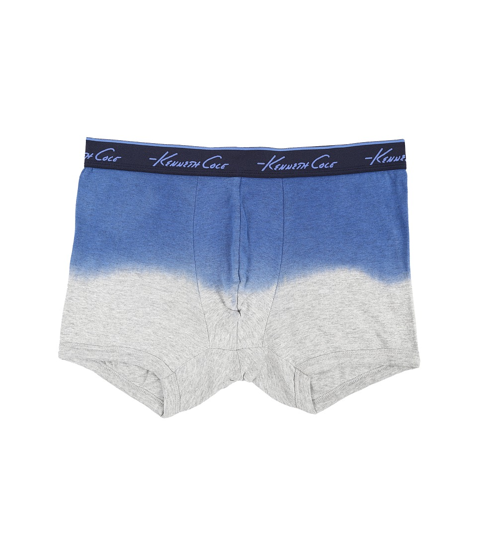 Kenneth Cole Reaction Heather Trunk Berry Blue Heather Mens Underwear