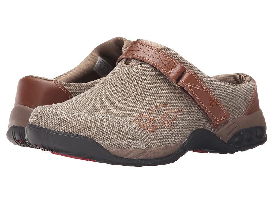 THERAFIT Austin Denim Denim/Tan Womens Flat Shoes