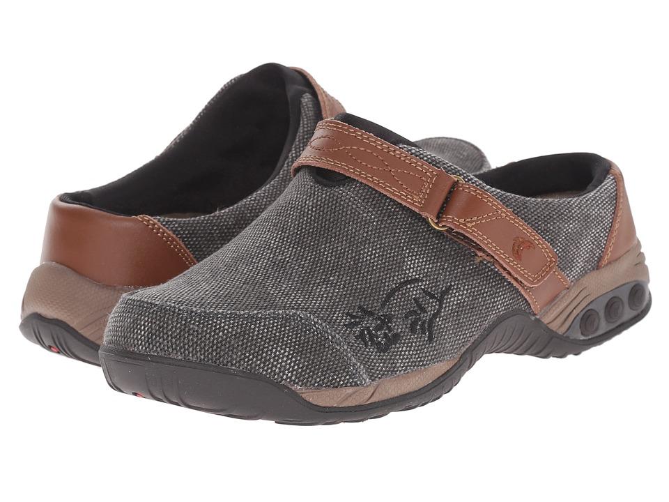 THERAFIT Austin Denim Denim/Black Womens Flat Shoes