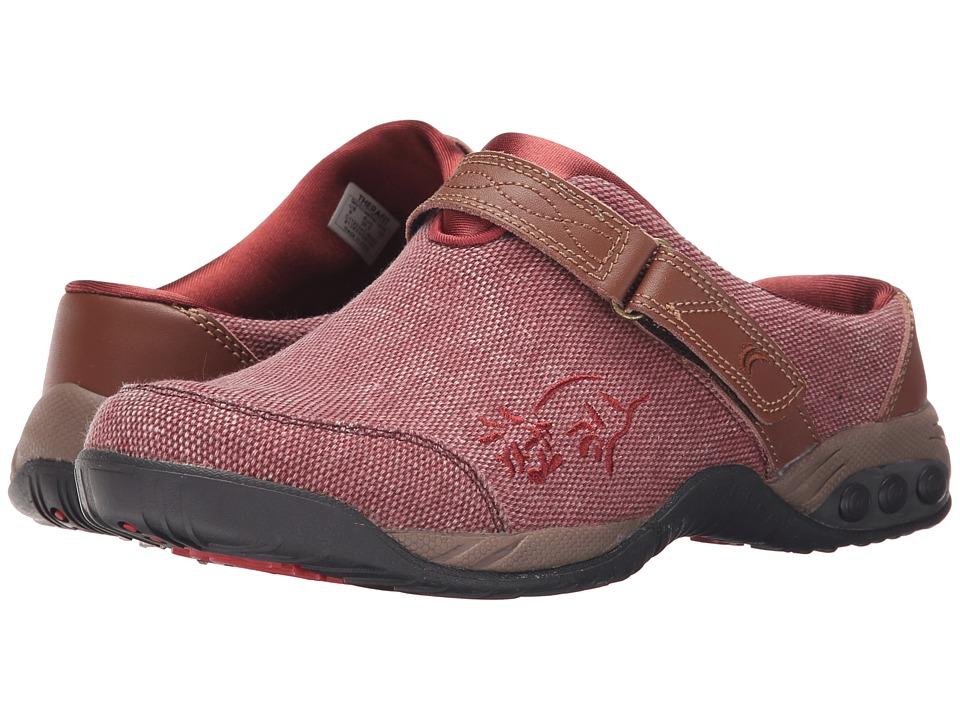 THERAFIT Austin Denim Denim/Rose Womens Flat Shoes