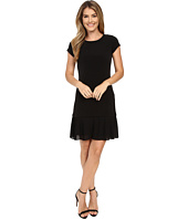 MICHAEL Michael Kors - Pleat Hem Dress