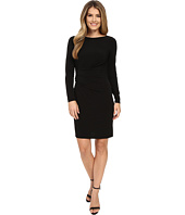 MICHAEL Michael Kors - Boat Neck Side Drape Dress