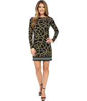 MICHAEL Michael Kors - Kegan Boat Neck Border Dress