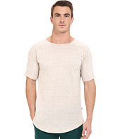 Publish - Titus - Speckled Lightweight Cotton Seamless Sleeve Shoulder Panel Knit Tee
