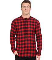 Publish - Seann - Brushed Plaid Popover Woven