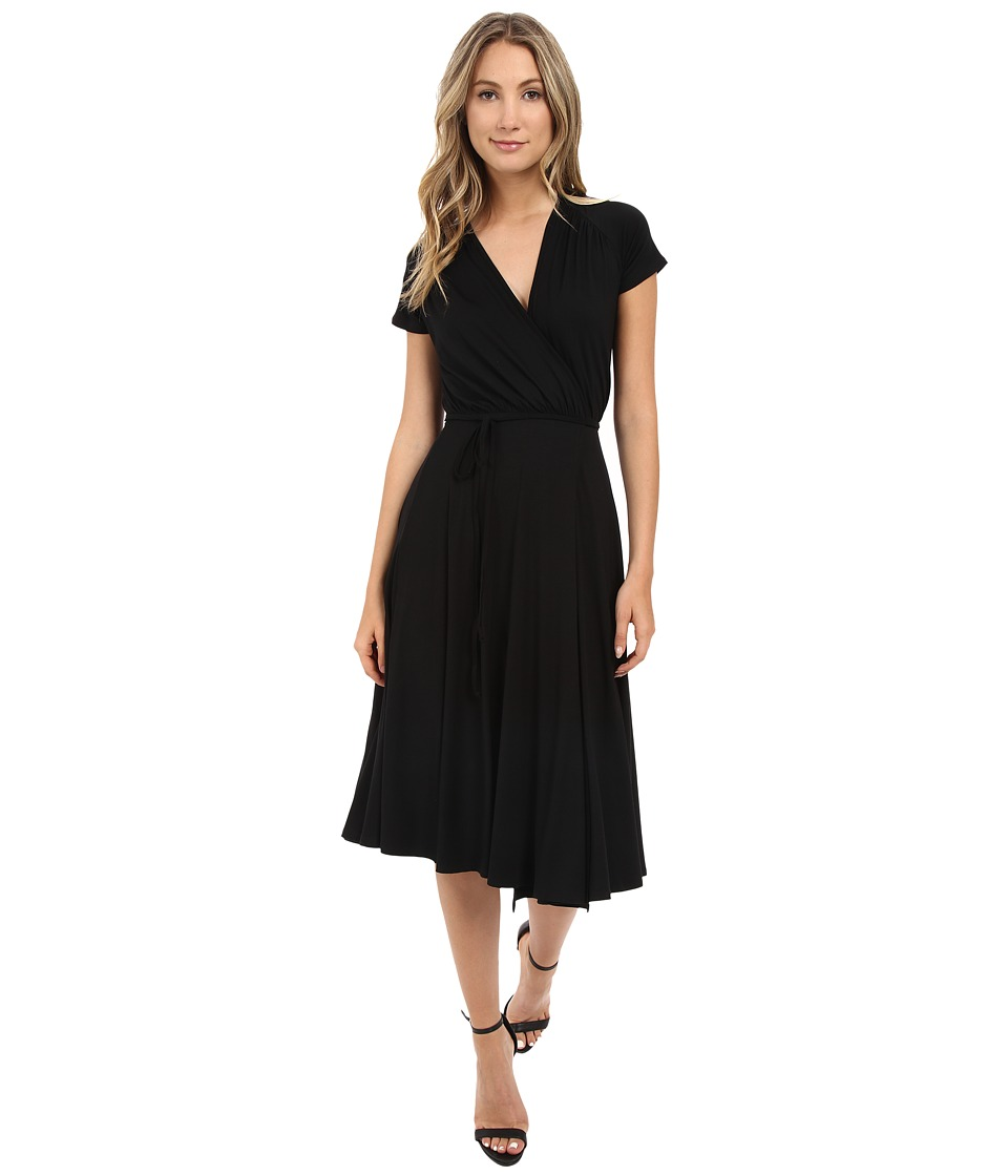 Rachel Pally Short Sleeved Cookie Dress (Black) Women