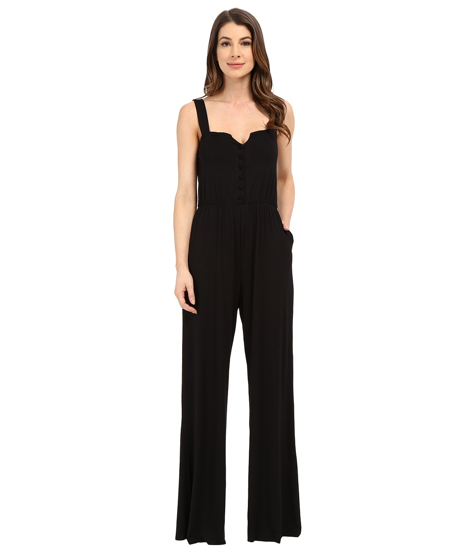 Rachel Pally Hoppe Jumpsuit Black Womens Jumpsuit Rompers One Piece