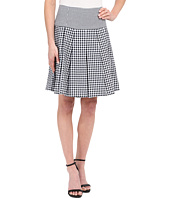 MICHAEL Michael Kors - Fit Flare Pleat Skirt