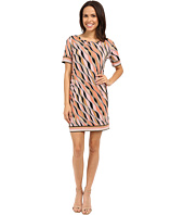 MICHAEL Michael Kors - Coley Short Sleeve Border Dress