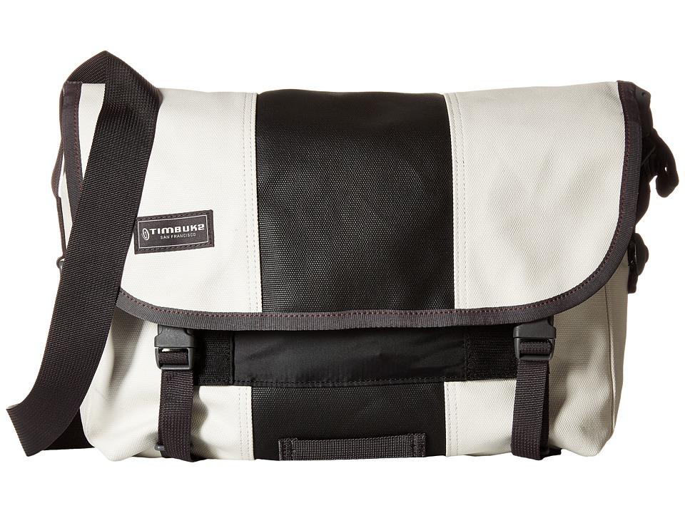 Timbuk2 - Classic Messenger Bag - Small (Heirloom White/Black) Messenger Bags