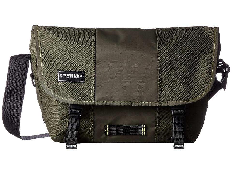Timbuk2 - Classic Messenger Bag - Medium (Army/Acid) Messenger Bags