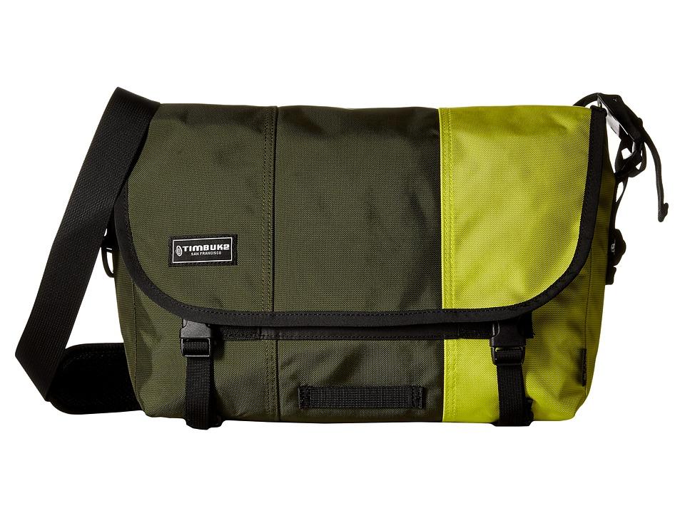 Timbuk2 - Classic Messenger Bag - Small (Army Dip) Messenger Bags
