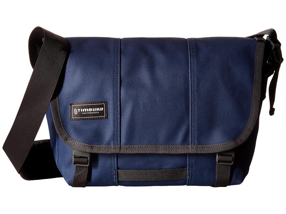 Timbuk2 - Classic Messenger Bag - Small (Heirloom Waxy Blue) Messenger Bags