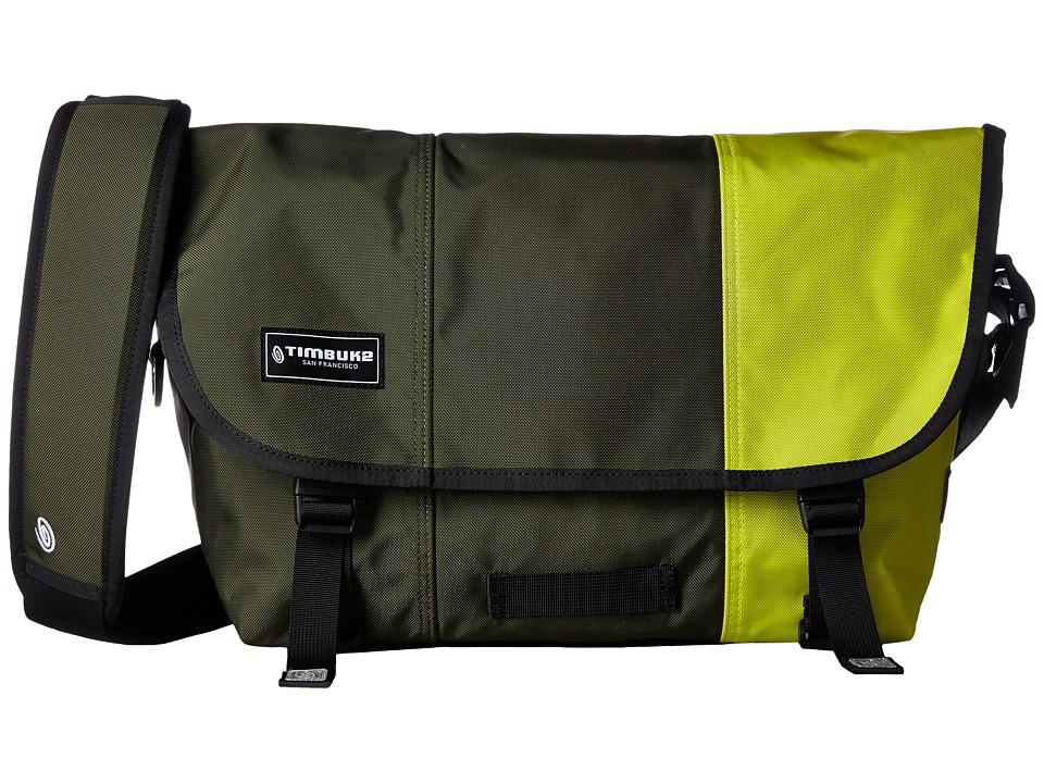Timbuk2 - Classic Messenger Bag - Medium (Army Dip) Messenger Bags