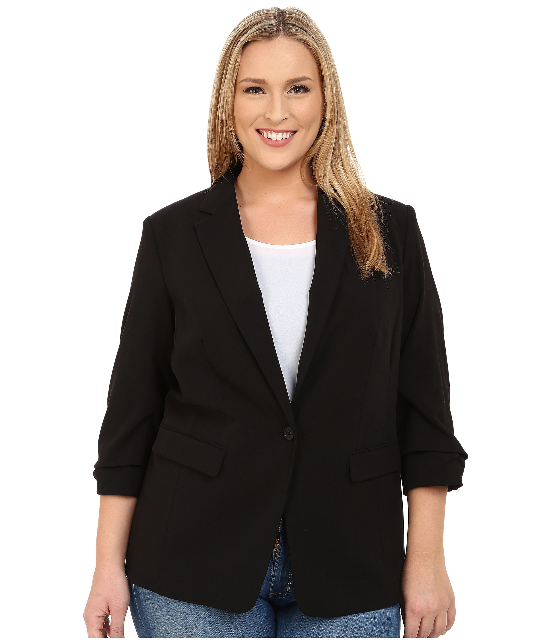 Dress up any outfit with our one-of-a-kind boyfriend plus size blazer designed to beautifully flatter your figure.. this blazer is fashionably loose and gracefully oversized; the .