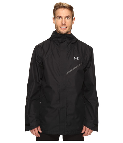 Under Armour UA CGI Powerline Shell Jacket - Black/Steel