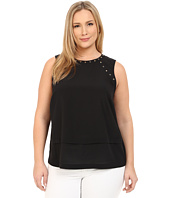 MICHAEL Michael Kors - Plus Size Studded Top