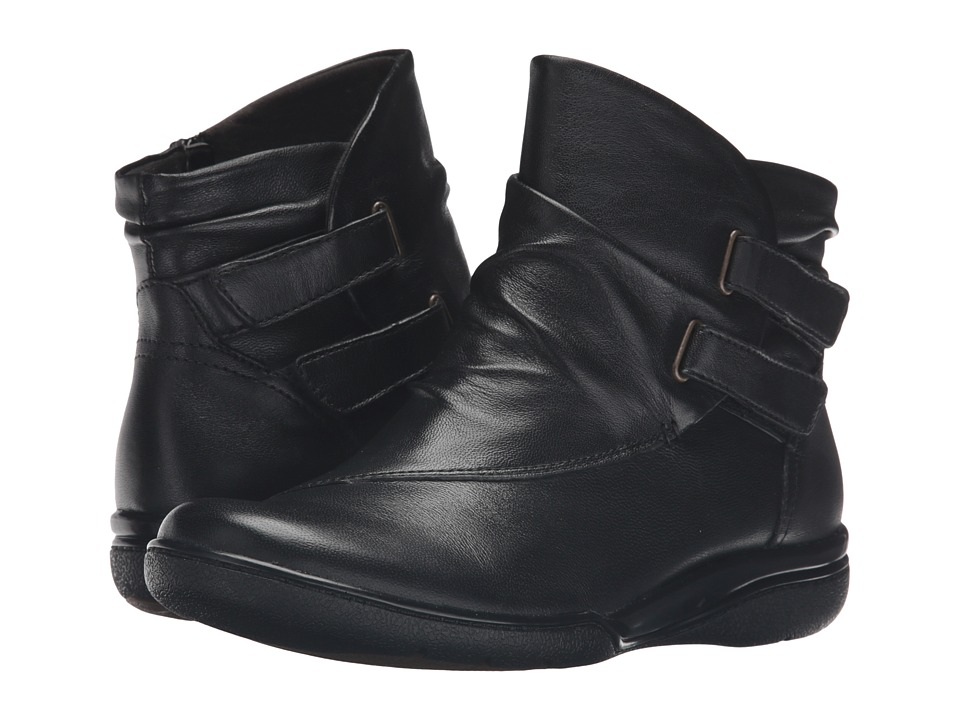 Clarks - Kearns Garden (Black Leather) Women