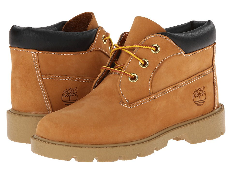 Timberland Kids 3 Eye Chukka (Little Kid) (Butter Pecan Nubuck) Boys Shoes