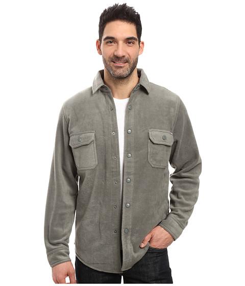 Woolrich Andes Fleece Shirt Jacket - Field Gray